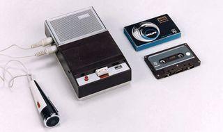 Gravador de voz_cassetes
